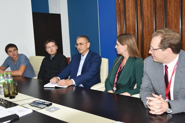 Встреча с представителями концерна «Моринформсистема-Агат»