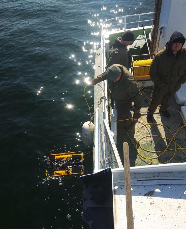 International Diploma for Underwater Robot Operators
