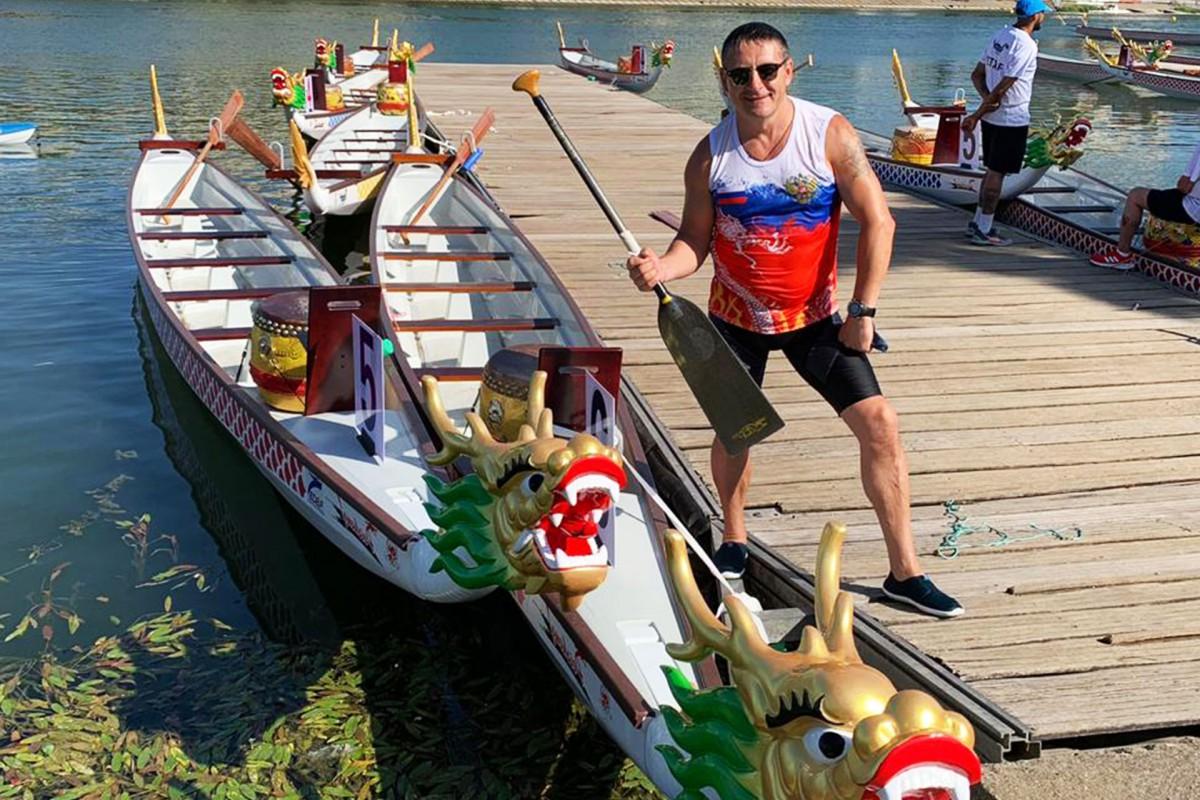 Победные старты гребцов на лодках «Дракон» в двух чемпионатах