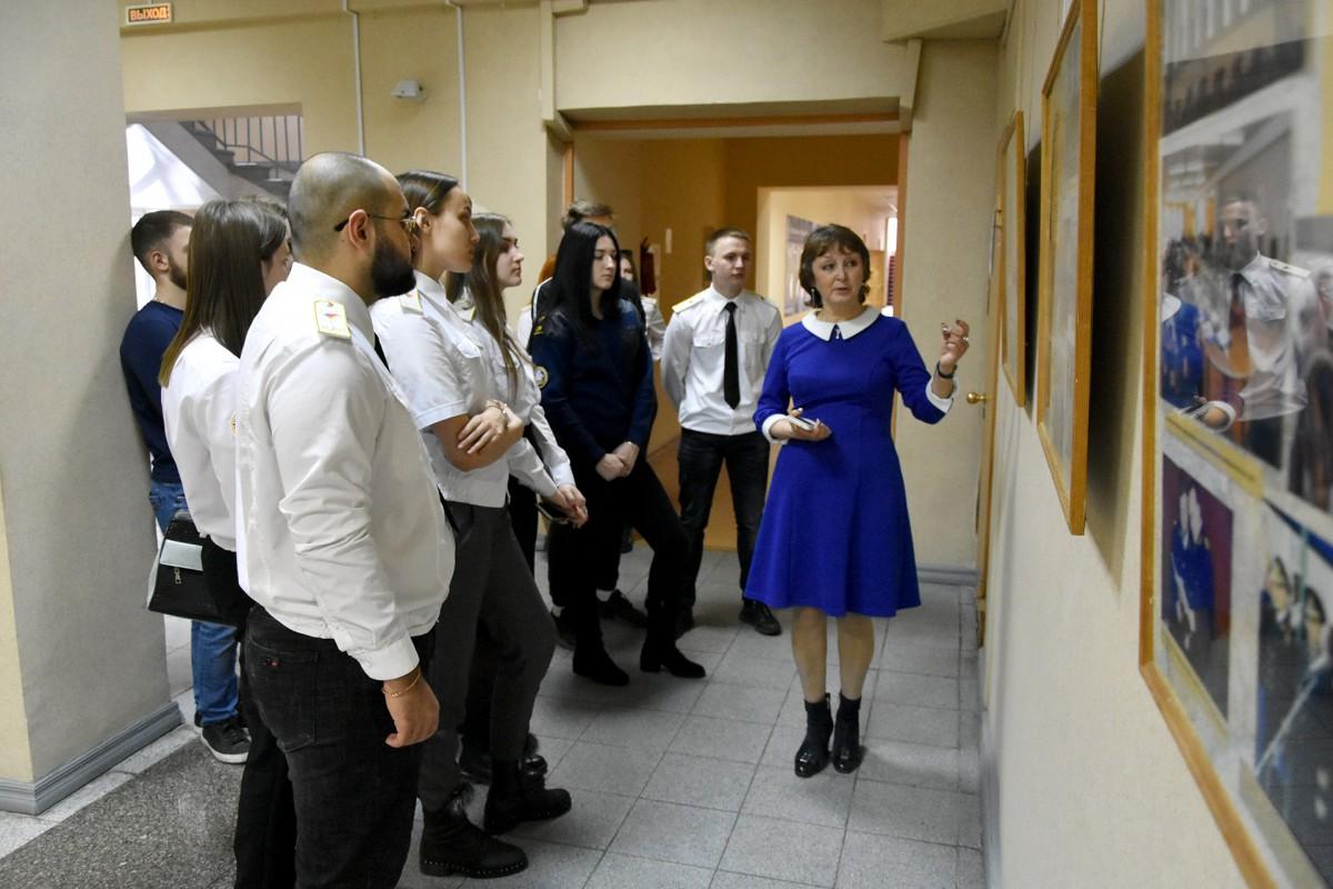 Студенты юрфака познакомились с историей университета