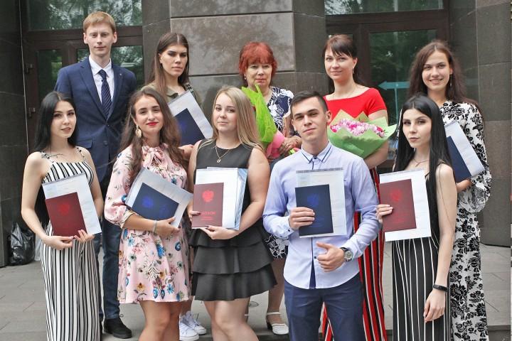 Вручение долгожданных дипломов
