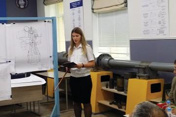 Защита дипломных проектов на Морском технологическом факультете.