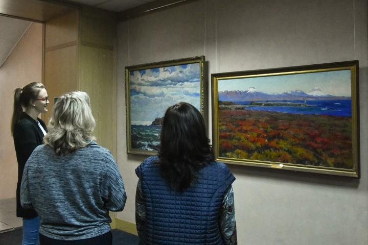 Во Владивостоке открыта художественная галерея участника Великой Отечественной войны Ивана Васильевича Рыбачука