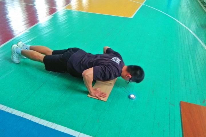 Соревнования на лучшую физическую подготовку среди курсантов
