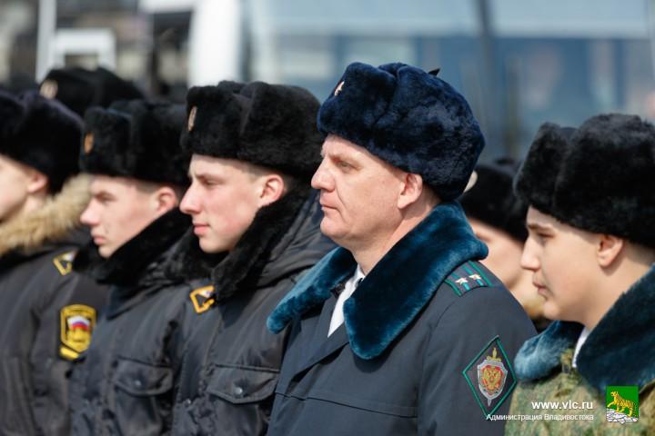 Курсанты участвовали в «Эстафете Победы»