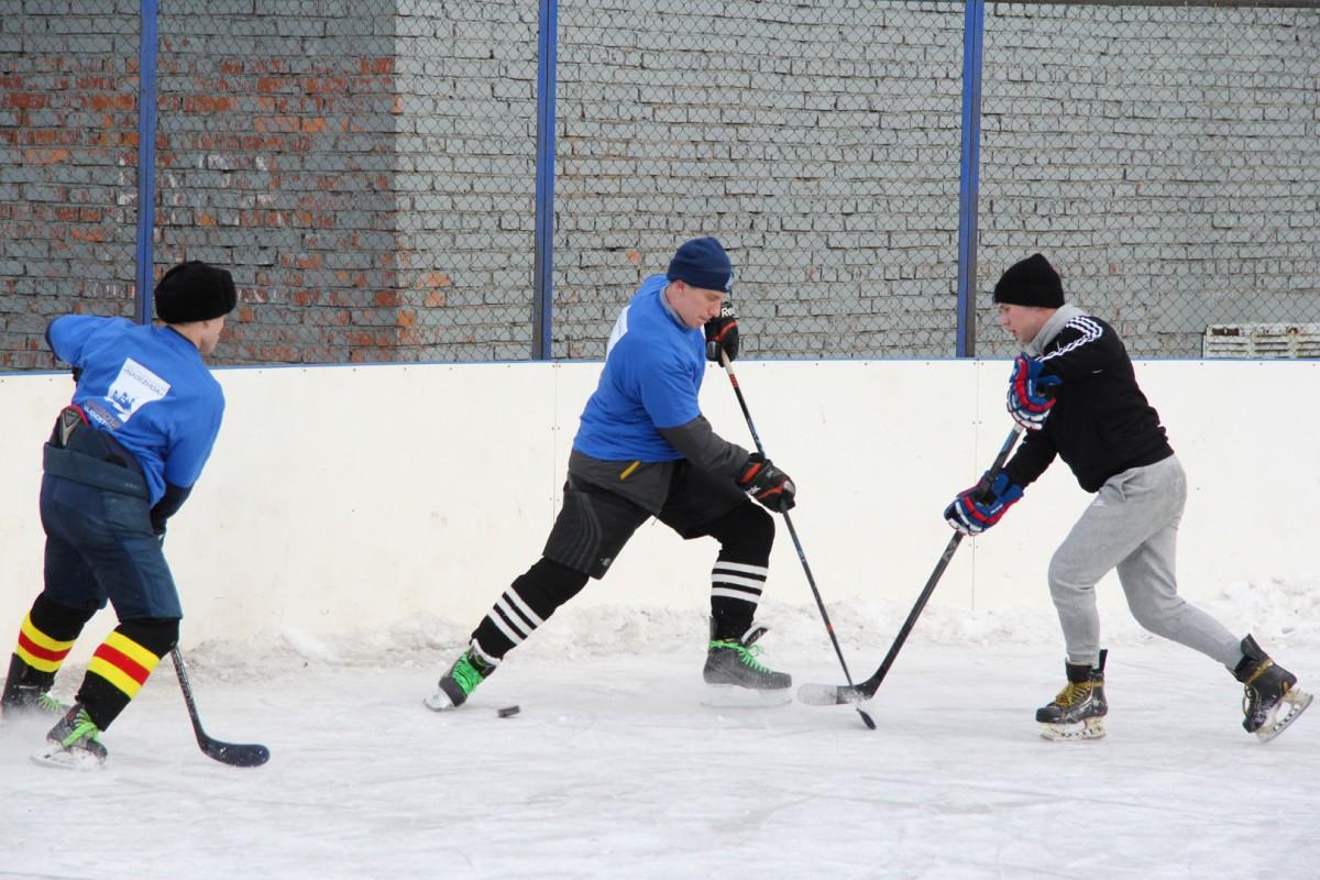 Хоккейный матч выявил настоящих профессионалов