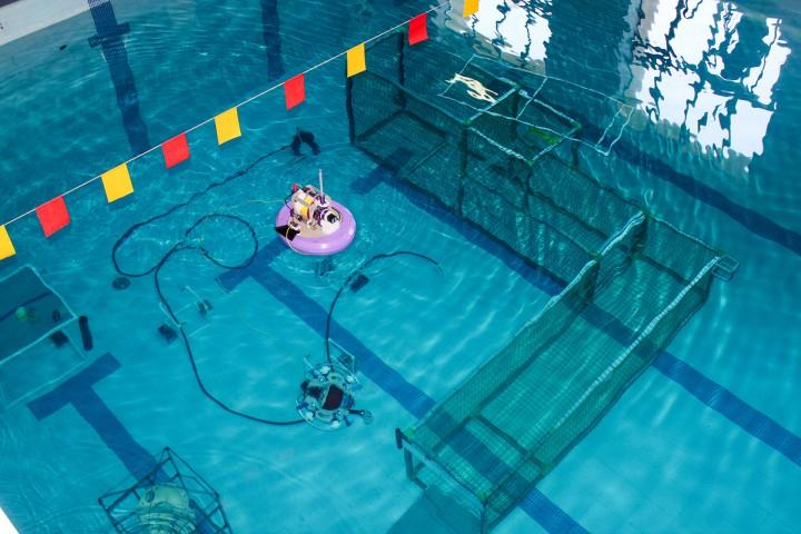 Соревнования подводных беспилотников проходили в напряжённой борьбе