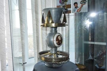 Кубок Невельского ошвартовался в музее университета