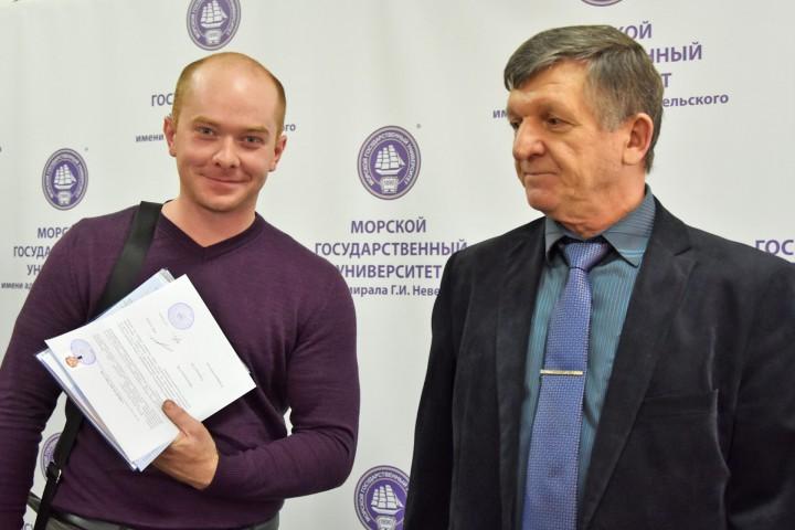 Судоводителям-заочникам вручены дипломы