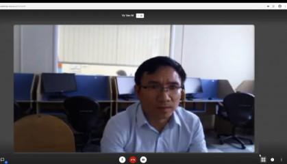 Вьетнамский аспирант успешно защитил научный доклад