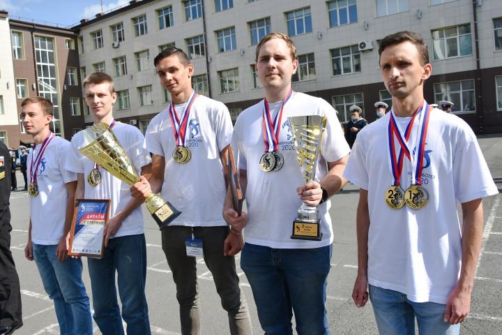 Вручены награды победителям второго этапа соревнований «Аквароботех-2020»