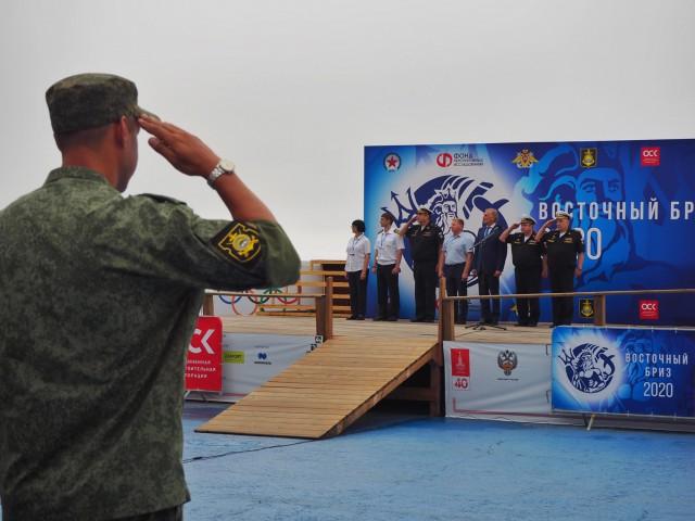 «Восточный бриз-2020» на Амурском заливе