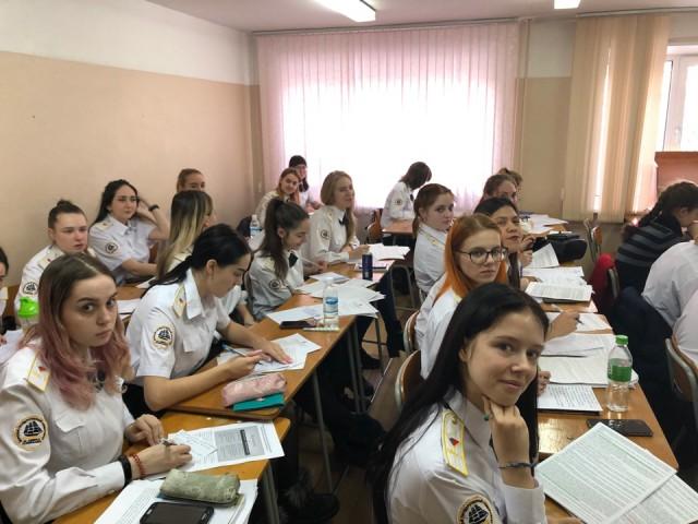 Первый экзамен сессии у психологов