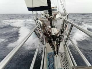 Парусно-моторная яхта «Славянка» на пути во Владивосток завершила средиземноморский этап перехода