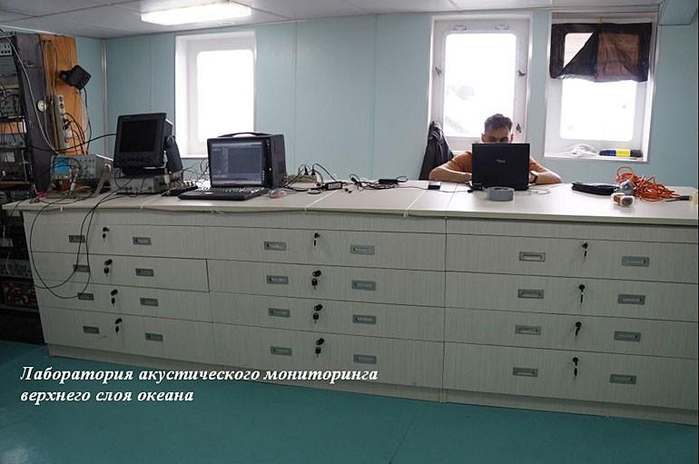 Научная команда на УПС «Профессор Хлюстин» приступила к работе